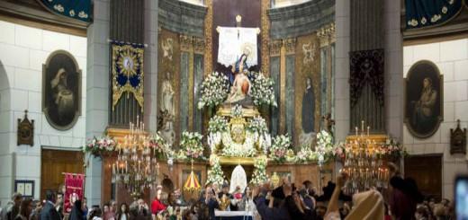 ofrenda virgen Cartagena 2017