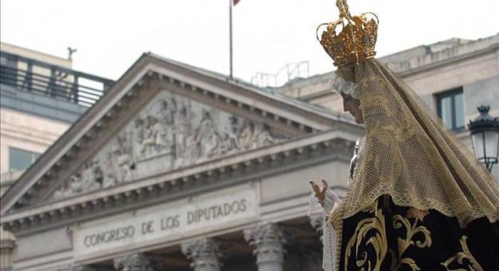 procesion Congreso Diputados