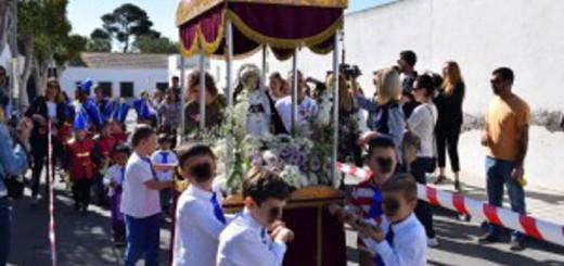 procesion colegio Nijar Almeria 2017
