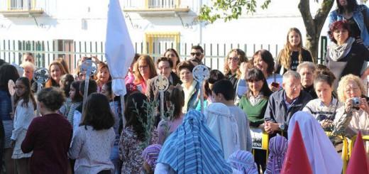 procesion escolar Marchena Sevilla 2017