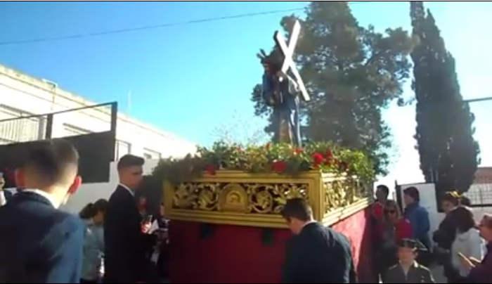 procesion escolar ceip Torrevieja Villamartin Cadiz 2017 a