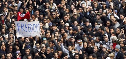protesta Tunez