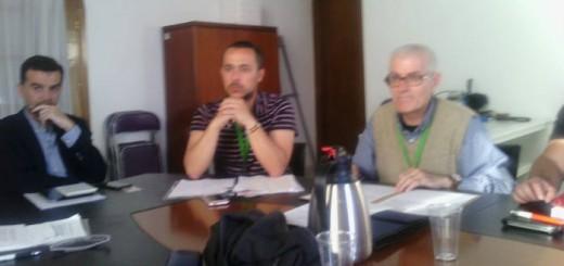 reunion Andalucia Laica con IU y Podemos 2017 a