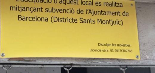 subvencion Barcelona mezquita Sants 2017