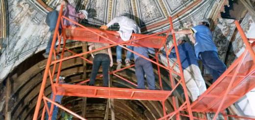 trabajos-iglesia-de-Yaguaron en Paraguay 2017