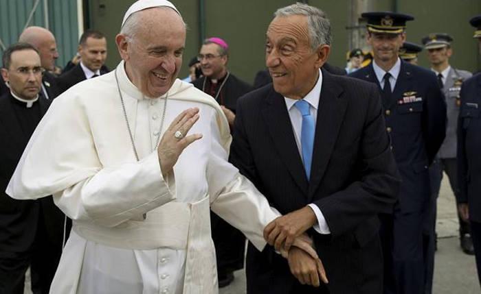 Bergoglio en Portugal 2017