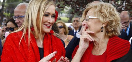 Carmena y cifuentes fiesta San isidro 2017