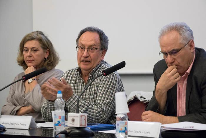 Encuentro UCM sobre universidad laica 2017 Fermin