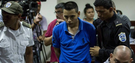 El pastor Juan Rocha, en un juzgado de Managua el pasado martes. JORGE TORRES EFE