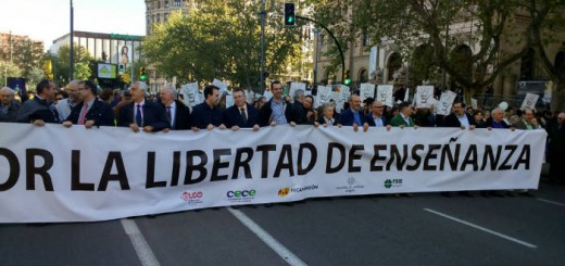 Manifestacion Escuela concertada 2017