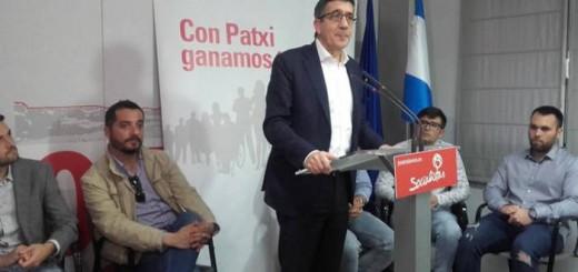 Patxi Lopez PSOE