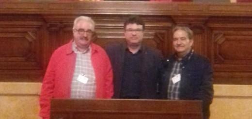 Reunion con Josep Nuet en el Parlament 2017