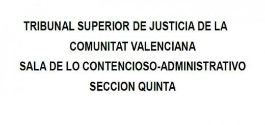 Sentencia TSJCV