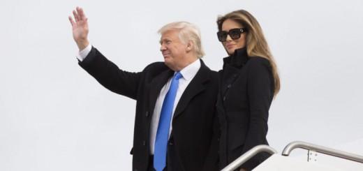 Trump viaje avion