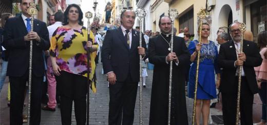 alcalde Algeciras procesion maria-auxiliadora 2017