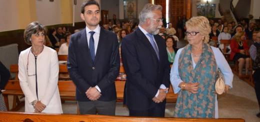 alcalde Talavera misa san Jose 2017