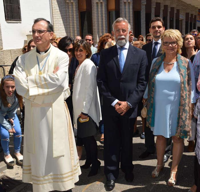 alcalde Talavera procesion san jose 2017