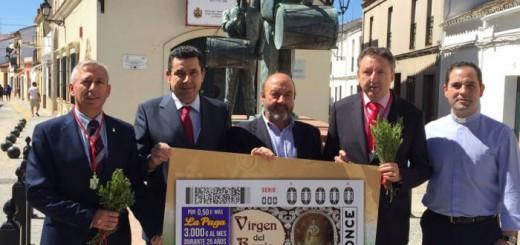alcalde Villamanrique Sevilla cupon ONCE Rocio 2017