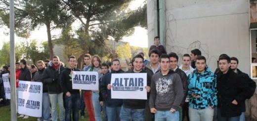 alumnos colegio opus Altair segrega