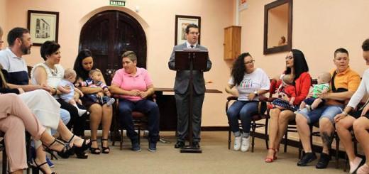 bienvenida civil en Arucas Canarias 2017