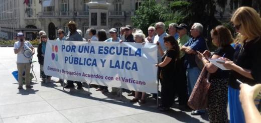concentracion escuela laica Congreso 2017 a