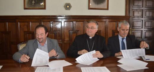 convenio Diputacion y obispado Teruel 2017