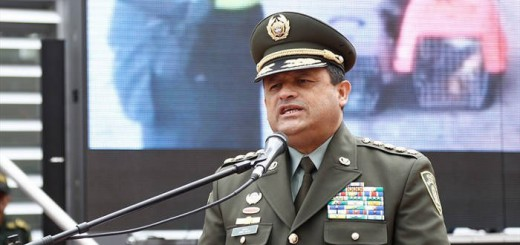 general Jorge Nieto director policia Colombia 2017