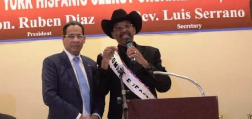 homenaje pastor dominicano 2017