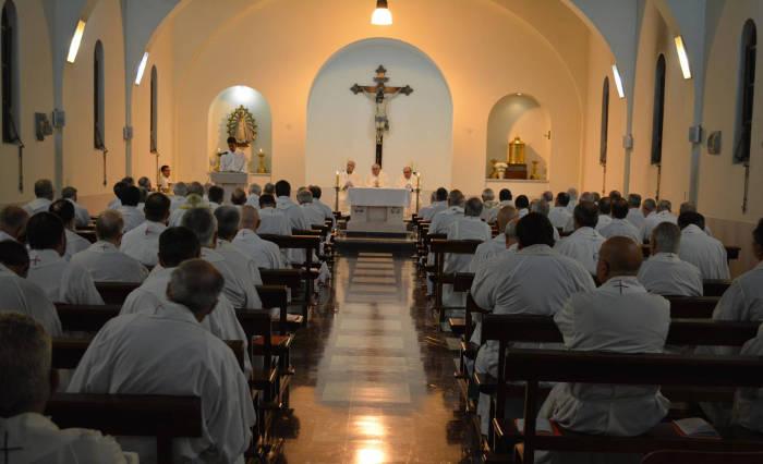 Misa de apertura de la 113° Asamblea de la Conferencia Episcopal Argentina. CEA