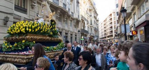 procesion virgen de los llanos Albacete