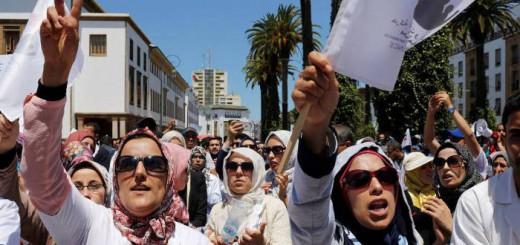 protesta mujeres Marruecos 2017