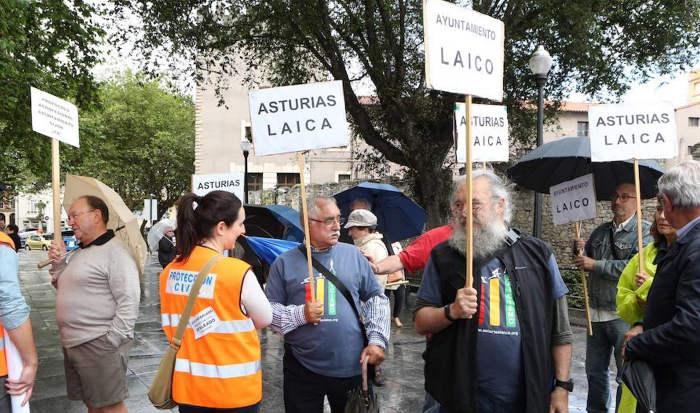 Bendicion aguas Gijon 2017 asturias laica