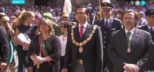 Corpus Granada 2017 Alcalde