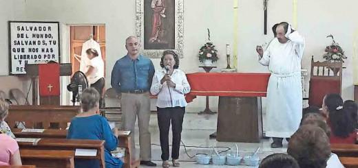 Diputado apoyo en misa Mexico 2017