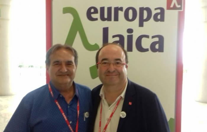 Europa Laica congreso PSOE 2017 e