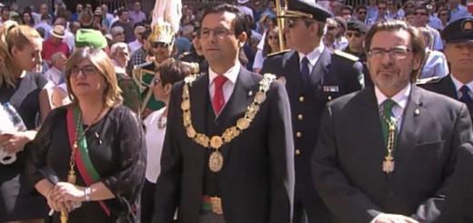 alcalde procesion corpus 2017 Granada