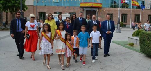 autoridades en Ugena Toledo 2017