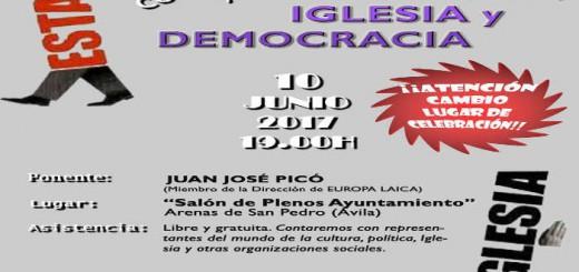 cartel acto Arenas de San Pedro