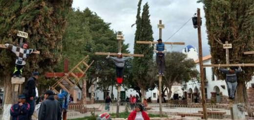 crucifixiones escolares Argentina 2017