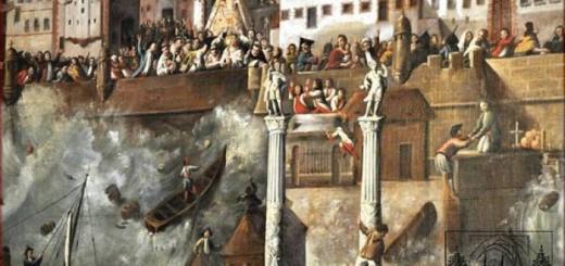 maremoto Cadiz 1755 y virgen del Rosario