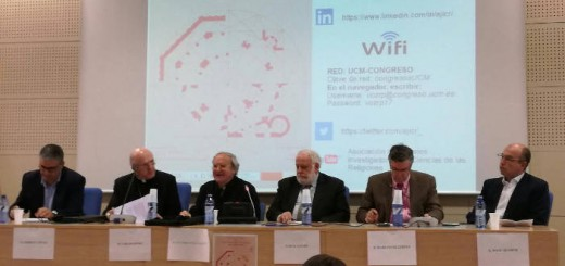mesa Jornada religiones esfera publica Madrid 2017