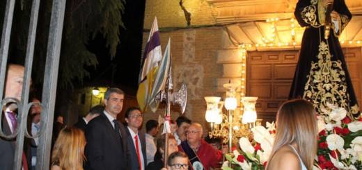 presidente Diputacion Toledo procesion Nambroca 2017 a