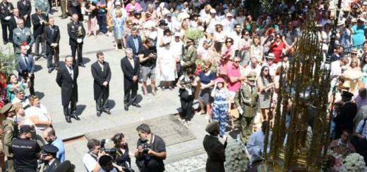 procesion Corpus Toledo 2017 autoridades