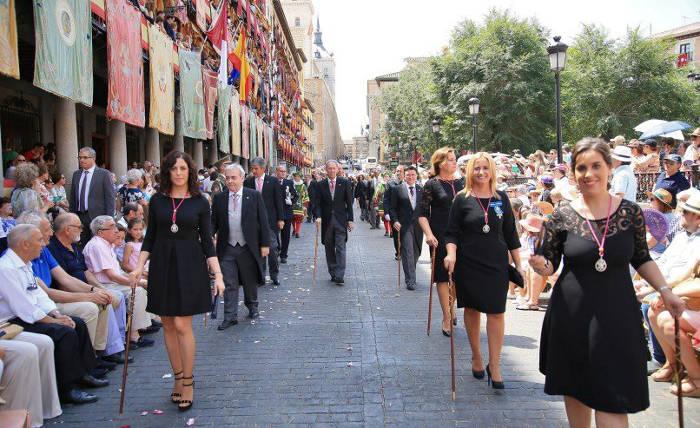 procesion Corpus Toledo 2017 ayuntamiento