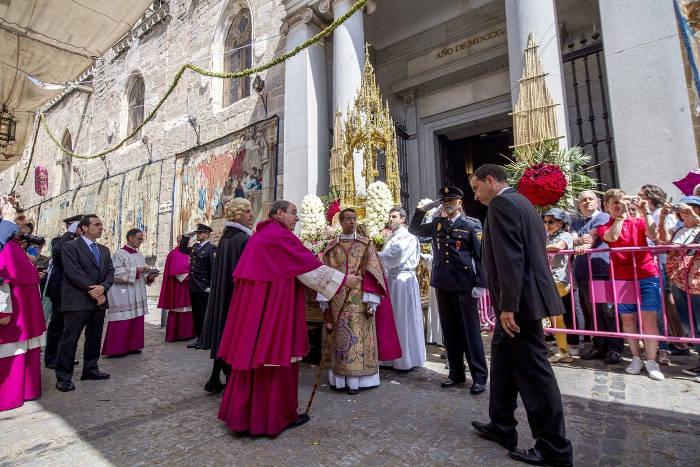 CELBRACIÓN DEL CORPUS CHRISTI TOLEDO