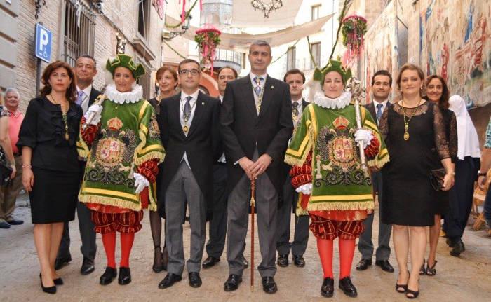 procesion Corpus Toledo 2017 diputacion