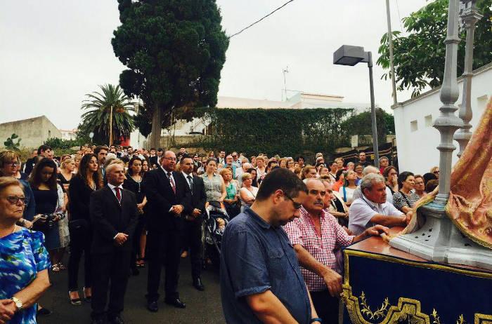 procesion alcalde El Sauzal 2017 a