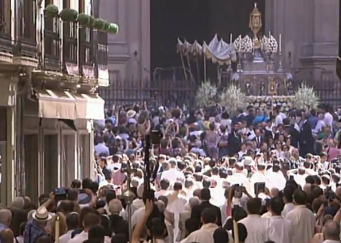 procesion corpus 2017 Granada