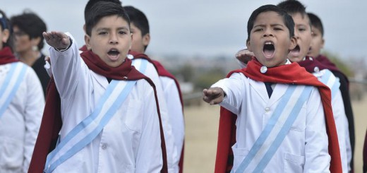 promesa lealtad banera escolares Argentina 2017
