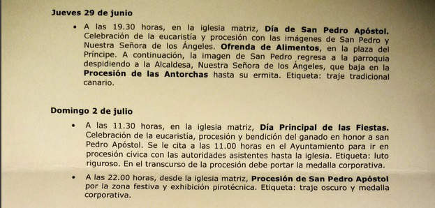 saluda alcalde El Sauzal Tenerife 2017 a